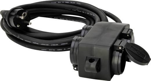 Kopp 145212049 Strom Verlangerungskabel 16 A Schwarz 5 M Fur