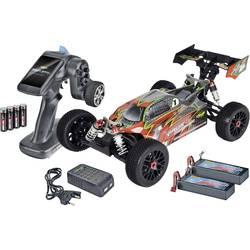 Carson Modellsport Virus 4.1 4S Brushless 1:8 RC Modellauto Elektro Buggy Allradantrieb (4WD) 100% RtR 2,4 GHz inkl. Akku, Ladegerät und Senderbatterien*