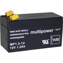 Olovený akumulátor multipower PB-12-1,2-4,8 MP1,2-12, 1.2 Ah, 12 V