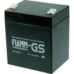 Olovený akumulátor Fiamm PB-12-4,5-4,8 FG20451, 4.5 Ah, 12 V