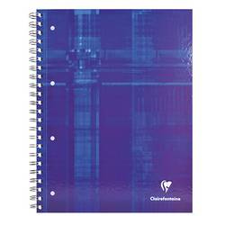 Image of Clairefontaine Collegeblock 82123C Blau DIN A4 kariert Anzahl der Blätter: 80