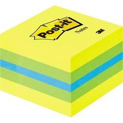 Samolepicí poznámkové bločky Post-it 2051-L, (š x v) 51 mm x 40 mm, modrá, limetkově zelená, citrónově žlutá, 400 listů