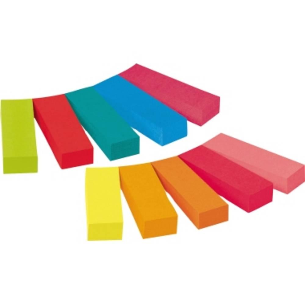 Post-it Häftremsor 670-10AB 10 Block/Pack.  Gul, Ultragul, Pastellrosa, Neonorange, Ultrarosa, Neongrön, Ultrablå, Turkos, Vallmo, Röd, Violett