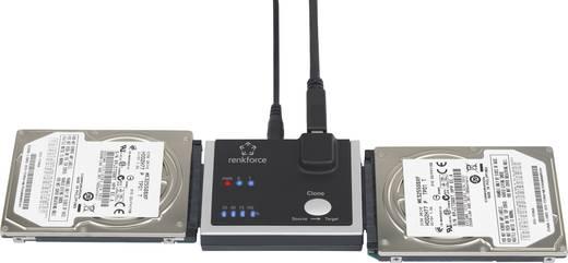1fach Festplatten-Kopierstation Renkforce SATA