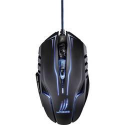 Optická USB herná myš Hama uRage Reaper Ess. 113747, ergonomická, podsvietenie, čierna