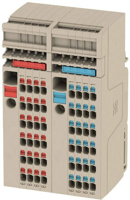 Verteiler-Reihenklemme Set AAP13 6//1.5//24C 2506380000 Beige Weidm/üller 1 St.