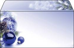 Image of Briefumschlag Weihnachten Sigel DU036 Blue Harmony DIN lang 90 g/m² Mehrfarbig 50 St.
