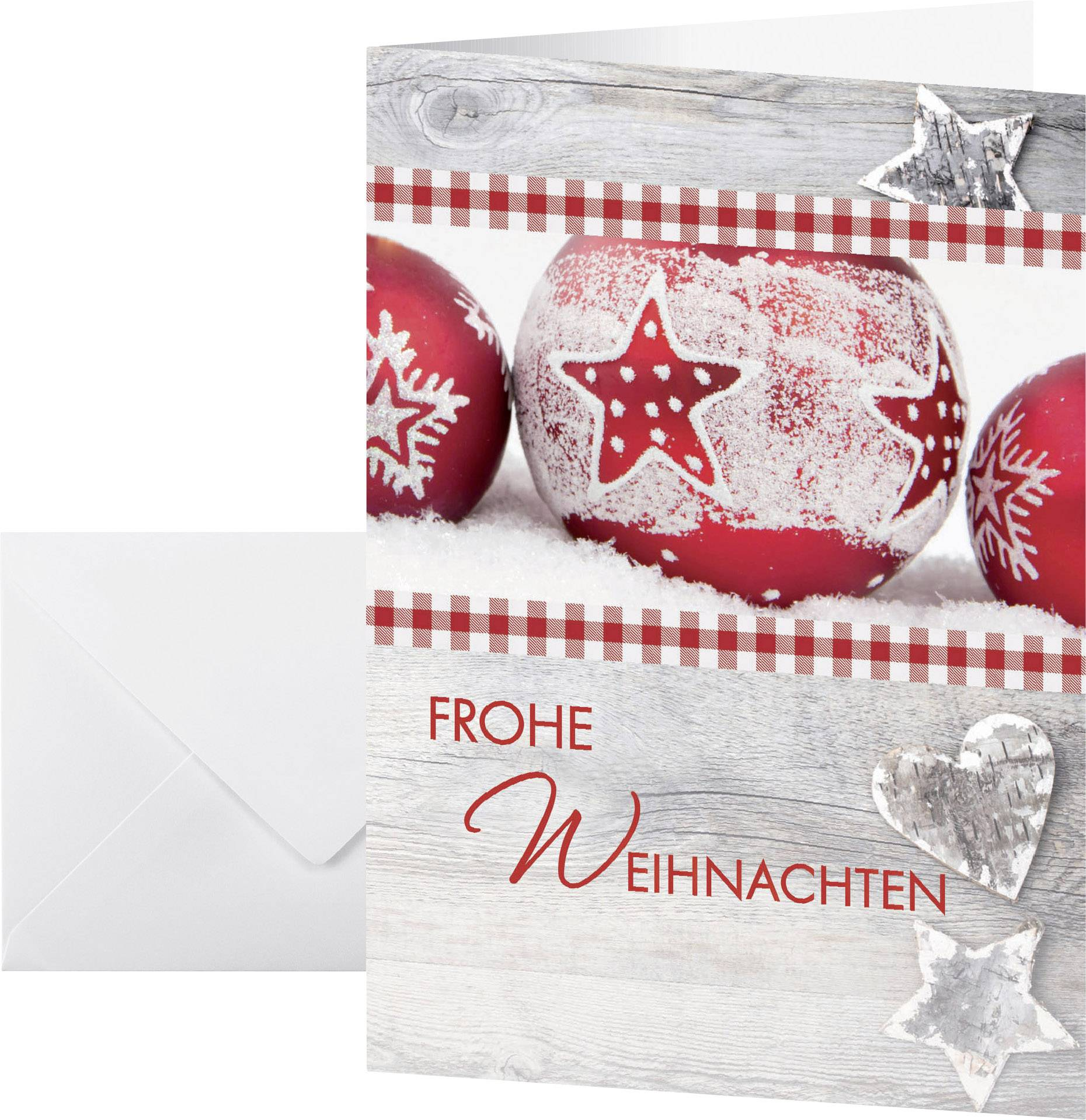 Weihnachtskarte Briefumschlag Sigel Ds053 Winter Feeling Din A6