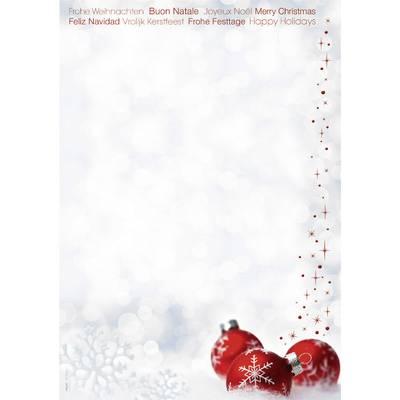 Motivpapier Weihnachten.Motivpapier Weihnachten Sigel Dp039 Winter Time Din A4 90 G M Mehrfarbig 25 Blatt