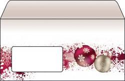 Image of Briefumschlag Weihnachten Sigel DU040 Frozen DIN lang 90 g/m² Mehrfarbig 50 St.