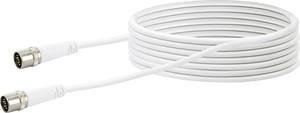 SAT-Anschlusskabel Quick-Stecker Receiver Antennenkabel 1,43€//m 1,5 m