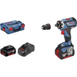 Aku vŕtací skrutkovač Bosch Professional GSR 18V-60 FC 06019G7101, 18 V, 5 Ah, Li-Ion akumulátor