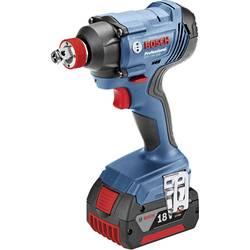 Aku rázový skrutkovač a uťahovák Bosch Professional GDX 18 V-180 06019G5200, 18 V, 2 Ah, Li-Ion akumulátor