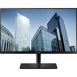 Samsung S24H850QFU LED monitor 60.5 cm (23.8 palca) en.trieda C (A +++ - D) 2560 x 1440 px WQHD 5 ms HDMI ™, DisplayPort, USB, na slúchadlá (jack 3,5 mm)