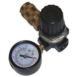 """Tlakový redukční ventil 1/4"""" m. horiz. Manometr + spojka Aerotec 9051120 70 mm"""