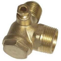 """Zpětný ventil 3/4"""" a 1/2"""" A kužel Aerotec 9048003 55 mm"""