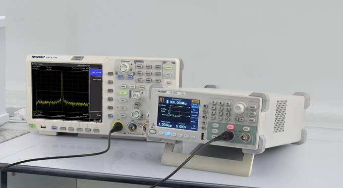 Spectrum Analyser und Funktionsgenerator
