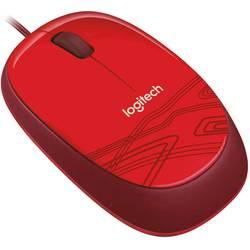 Optická USB myš Logitech M105 910-002945, červená