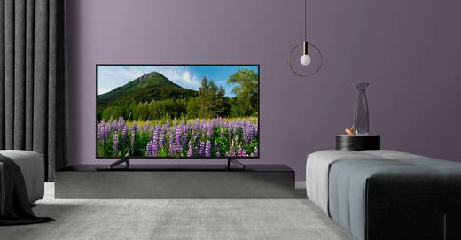 Sony BRAVIA KD55XF7005 LED-TV 139 cm 55 Zoll EEK A DVB-T2, DVB-C, DVB-S2, UHD, Smart TV, WLAN, PVR ready, CI+ Schwarz