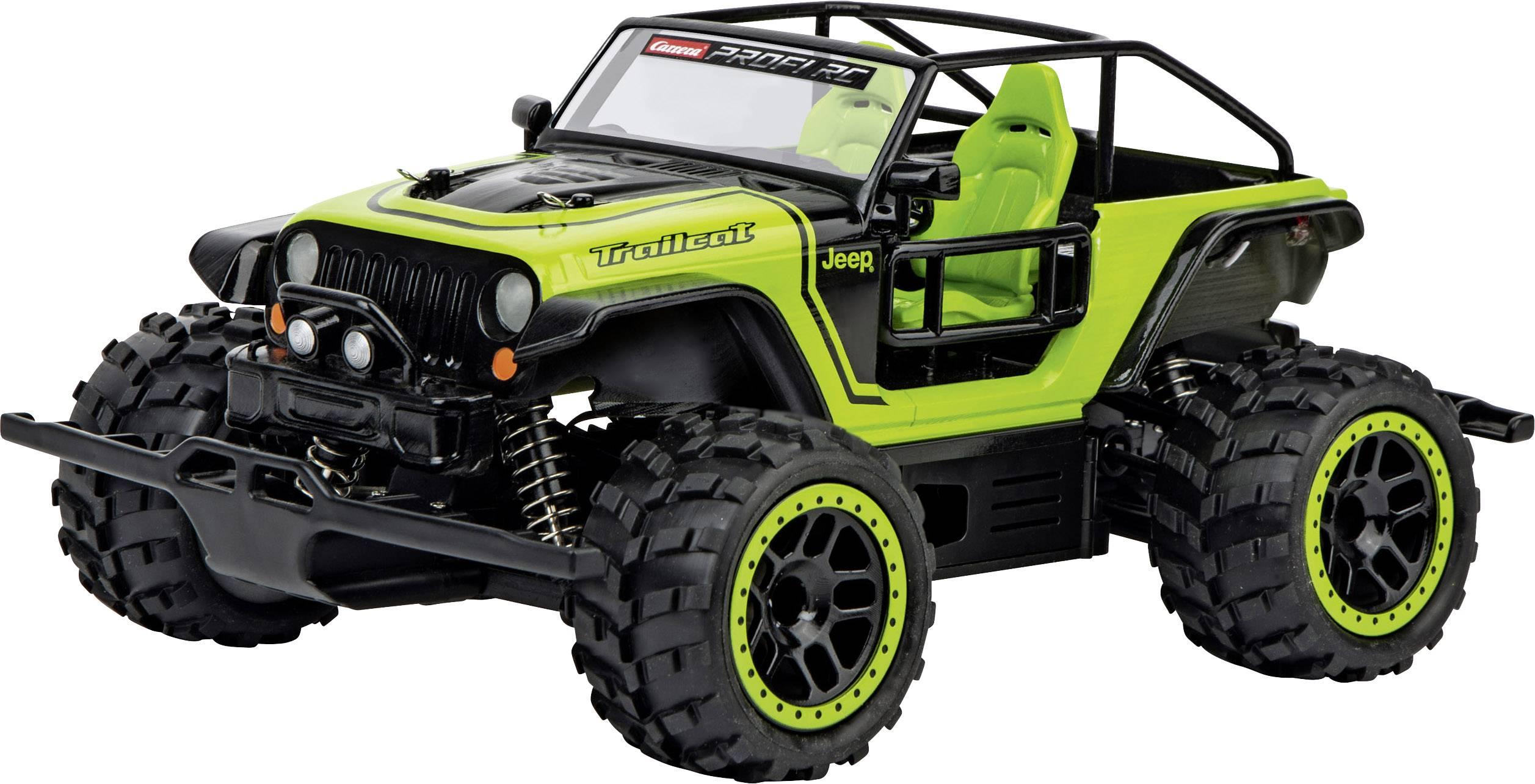 carrera rc 370183019 jeep trailcat ax 1 18 rc einsteiger modellauto elektro gel ndewagen inkl. Black Bedroom Furniture Sets. Home Design Ideas