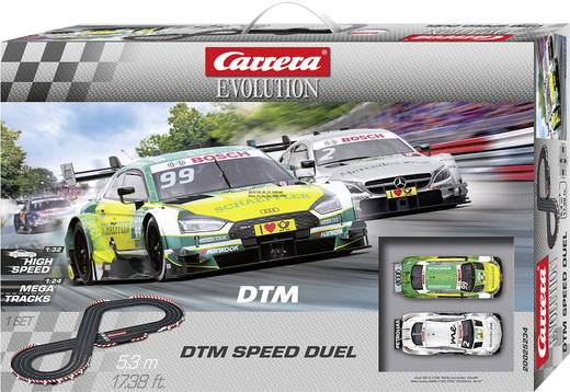 carrera 20025234 evolution dtm speed duel start set. Black Bedroom Furniture Sets. Home Design Ideas