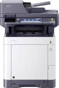 Dieser Drucker hat zahlreiche hilfreiche Funktionen fürs Büro - wie die Möglichkeit zu faxen
