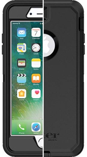 otterbox defender iphone outdoorcase passend f r apple iphone 7 plus apple iphone 8 plus. Black Bedroom Furniture Sets. Home Design Ideas