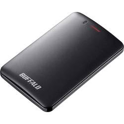 """Externý SSD pevný disk 6,35 cm (2,5"""") Buffalo MiniStation™ SSD, 240 GB, USB 3.1, čierna"""