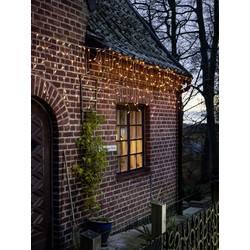 Vnitřní/venkovní světelný závěs - zmrzlé kapky Konstsmide 2762-802 400 x LED, 230 V/50 Hz, jantarová