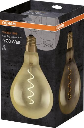 OSRAM LED EEK A (A++ - E) E27 Glühlampenform 5.00 W = 28 W Warmweiß (Ø x L) 160 mm x 160 mm 1 St.
