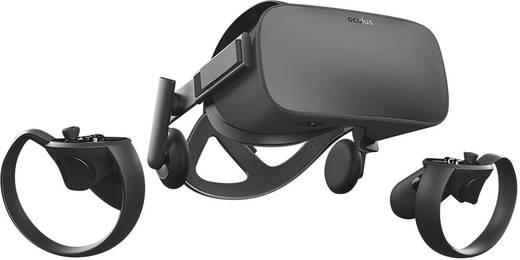 Oculus Rift Schwarz Virtual Reality Brille inkl. Controller, mit integriertem Soundsystem