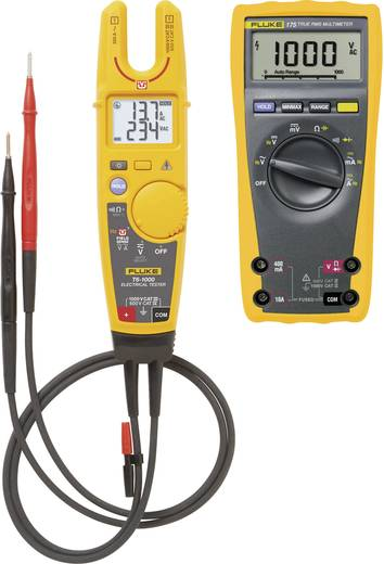 Fluke Fluke DMM 175 - Fluke T6-1000/EU Hand-Multimeter digital CAT III 1000 V, CAT IV 600 V Anzeige (Counts): 6000