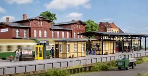 Bahnhofsausstattung   Bausatz Neuware Auhagen H0 11452
