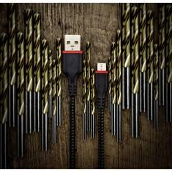 USB 2.0 prepojovací kábel Renkforce Strong, 1.00 m, čierna