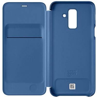 more photos 0960f 7d2d4 Samsung Wallet Cover Booklet Passend für: Samsung Galaxy A6+ (2018) Blau