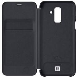 Samsung Wallet Cover Booklet Galaxy A6 Plus (2018) černá