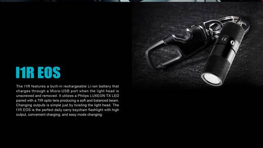 olight i1r eos led mini taschenlampe mit usb schnittstelle. Black Bedroom Furniture Sets. Home Design Ideas