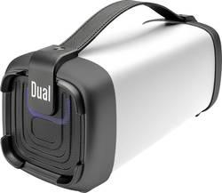 Image of Dual BT 10 Bluetooth® Lautsprecher AUX, FM Radio, SD, USB Weiß