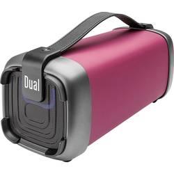 Bluetooth® reproduktor Dual BT 10 AUX, FM rádio, SD, USB, červená