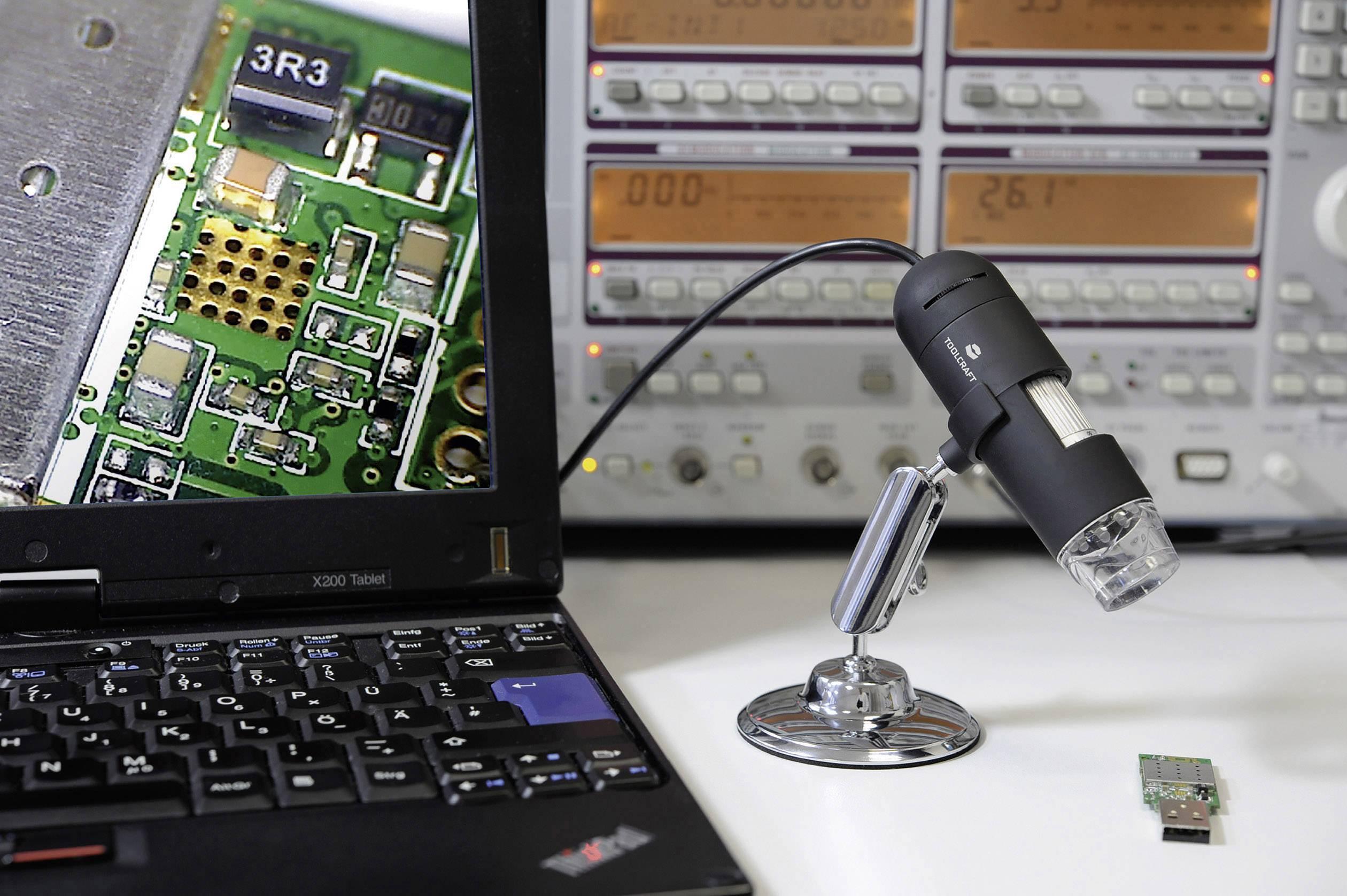 Usb mikroskop toolcraft mio pixel digitale vergrößerung max