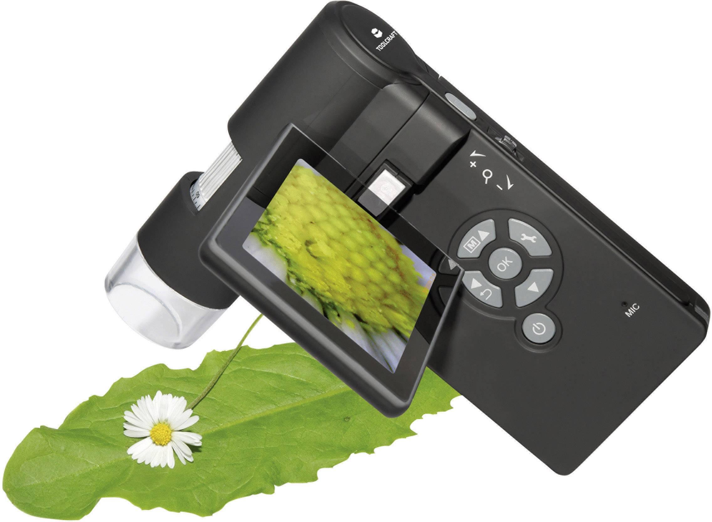 Toolcraft usb mikroskop mit monitor mio pixel digitale