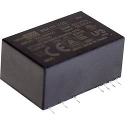 Sieťový zdroj AC/DC do DPS Mean Well IRM-01-15S, 15 V/DC, 67 mA, 1 W