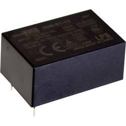 Sieťový zdroj AC/DC do DPS Mean Well IRM-01-15, 15 V/DC, 67 mA, 1 W