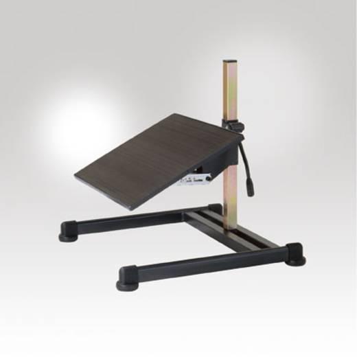 Manuflex ST1100 Fußstütze höhenverstellbar und neigbar von 8°-25° beschichtet schwarz (B x H x T) 530 x 400 x 520 mm