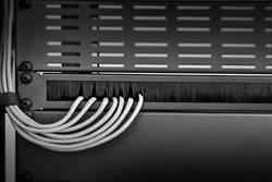 """Kartáčová lišta pro datové skříně Renkforce RF-3429140, velikost racku (HE) 1 U, 19 """""""