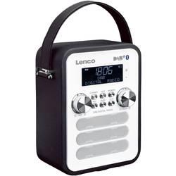 DAB+ vreckové rádio Lenco PDR-050BK, AUX, Bluetooth, čierna