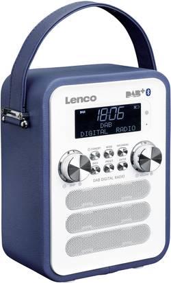 DAB+ kapesní rádio Lenco PDR-050BU, AUX, Bluetooth, modrá