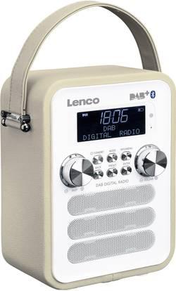 DAB+ kapesní rádio Lenco PDR-050TP, AUX, Bluetooth, tmavě šedá (taupe)