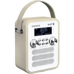 DAB+ vreckové rádio Lenco PDR-050TP, AUX, Bluetooth, tmavo sivá (taupe)