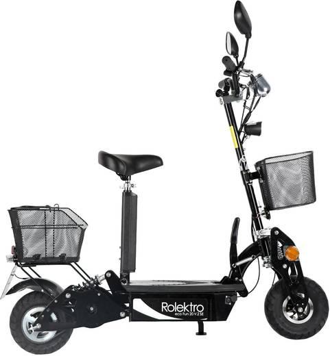 rolektro eco fun 20 v 2 se e scooter schwarz blei gel 36 v. Black Bedroom Furniture Sets. Home Design Ideas